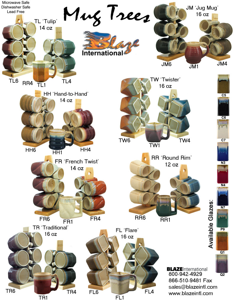 Mug Trees (Only) Brochure - Page 1