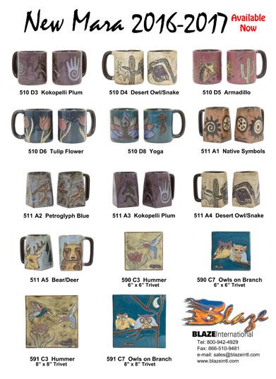 Blaze International | Exclusive Distributors of Mara & Padilla Stoneware